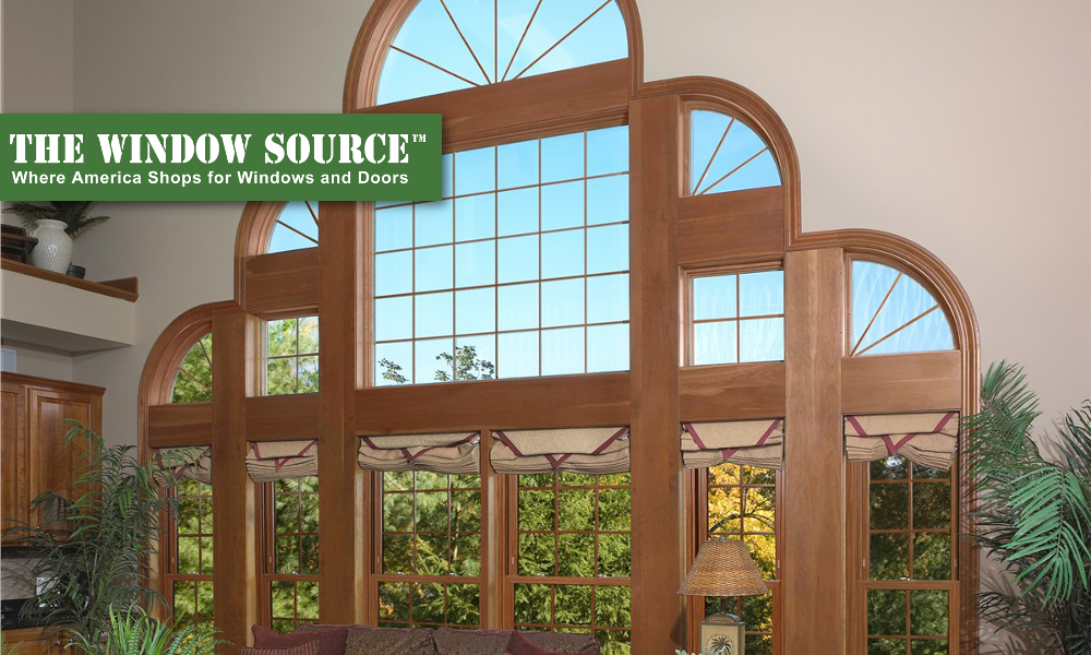 Architectural Shaped Windows in Raleigh